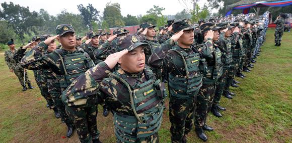 驻港部队国际首秀 中马军演开帷共护南海和平