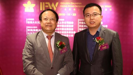 大公文汇传媒集团副董事长李大宏与碧桂园副总裁朱剑敏