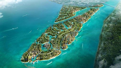 马来西亚森林城市规划图