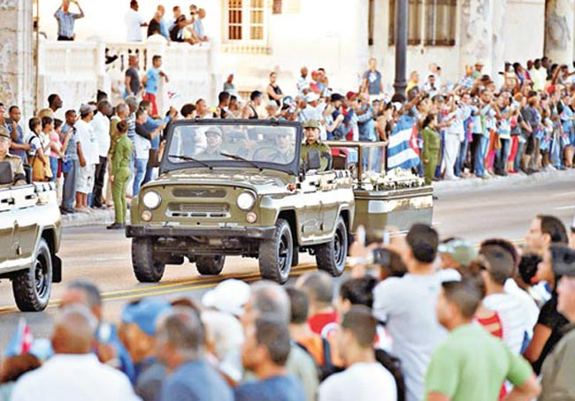 古巴牵动中美 李源潮出席追悼会 华府未派代表团
