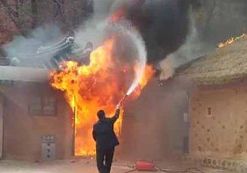 樸槿惠之父樸正熙故居遭人縱火