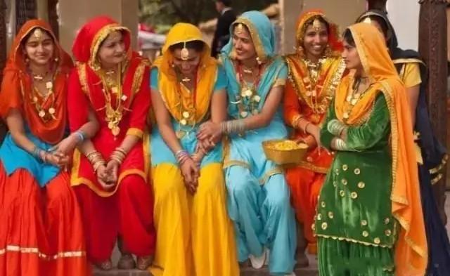 色彩天堂,印度民族服饰之美