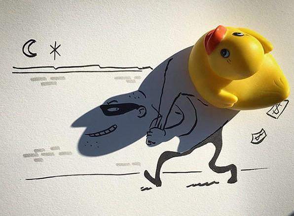 影子作画——你意想不到的脑洞