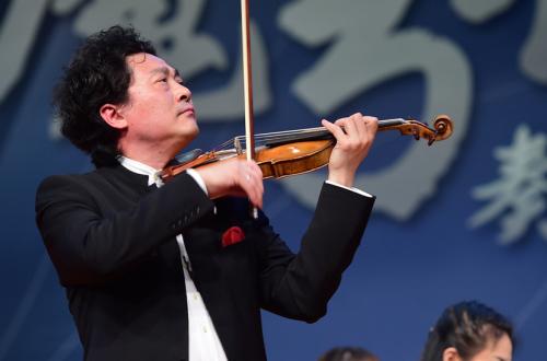 12月4日,吕思清入职北京师范大学文化创新与传播研究院后,为北京师范大学师生带来首场演出。