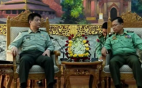 西部战区上将司令访问缅甸有何玄机?
