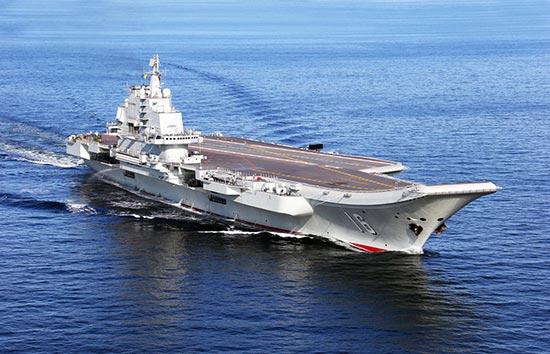实弹演练制空反导 中国航母编队已能上阵歼敌