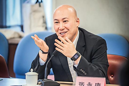 """香港金融青年會主席張永康:投資必須着眼於""""新"""""""