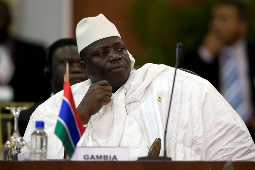 总统卸任不放权 冈比亚紧急状态