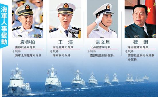 袁誉柏升任南部战区司令 破陆军将领担纲格局