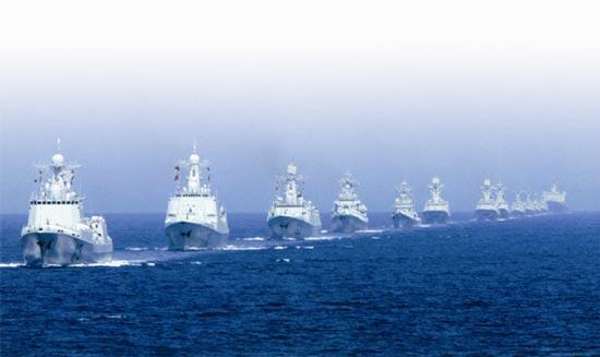 南海局勢嚴峻 海軍角色吃重
