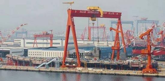 外媒:中國首艘國產航母或二季度下水