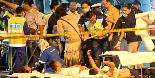 五中國遊客仍失蹤 大馬擴沉船事故搜救範圍