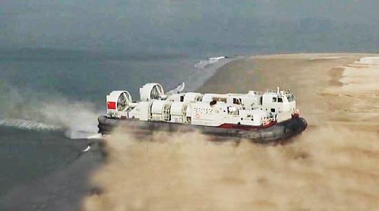 """""""野马""""量产列装南海舰队 强化中国跨海登陆战力"""