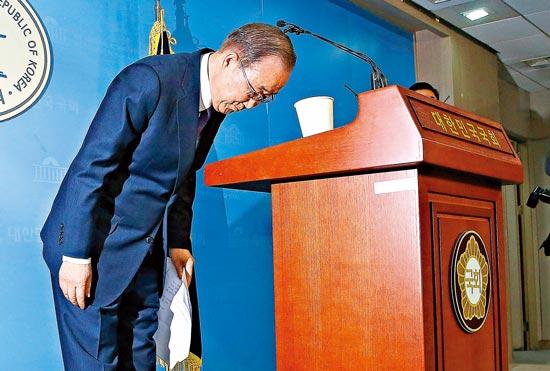 潘基文不選總統有何深意