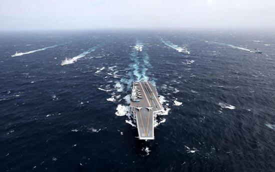 """首艘國產航母""""山東艦""""基本建成 或部署南海"""