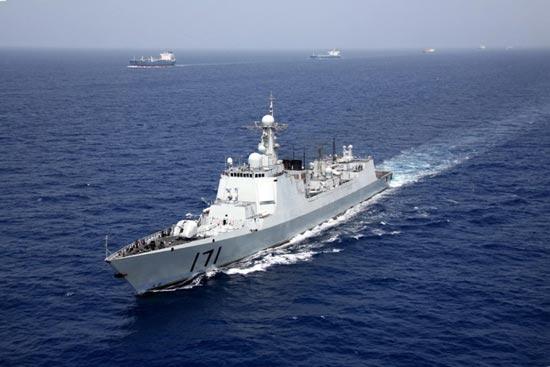 海军南海舰队新春训练剑指谁家?