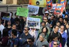 3500市民撐警遊行 為香港討公道