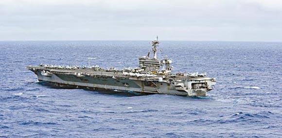 美航母戰鬥羣闖南海巡邏炫武力 逼近中國島礁