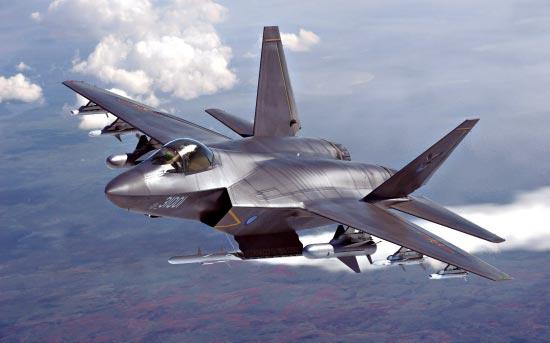 美五代機優勢削弱 殲20殲31高低搭配互補戰力