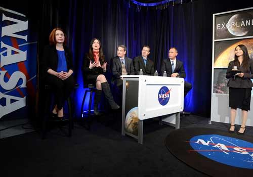 "NASA寻到地球""七姐妹"" 仅距地球40光年"