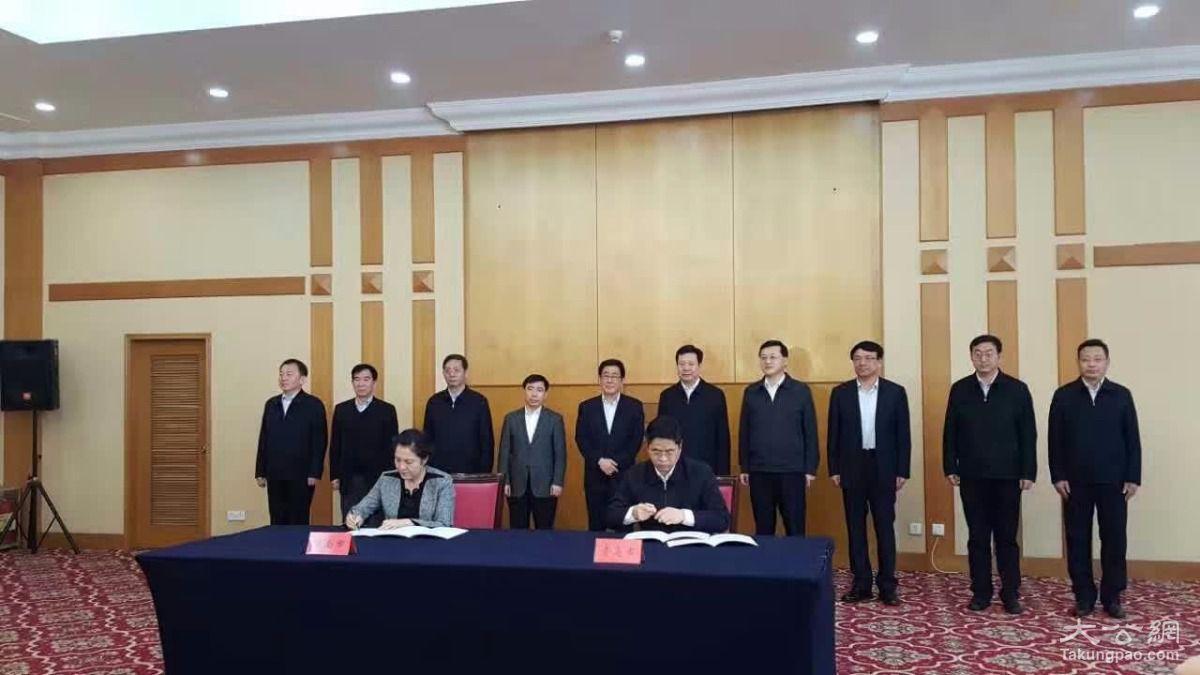 大公网3月1日讯(记者杨韶红电)甘肃省长林铎今专程到青岛与