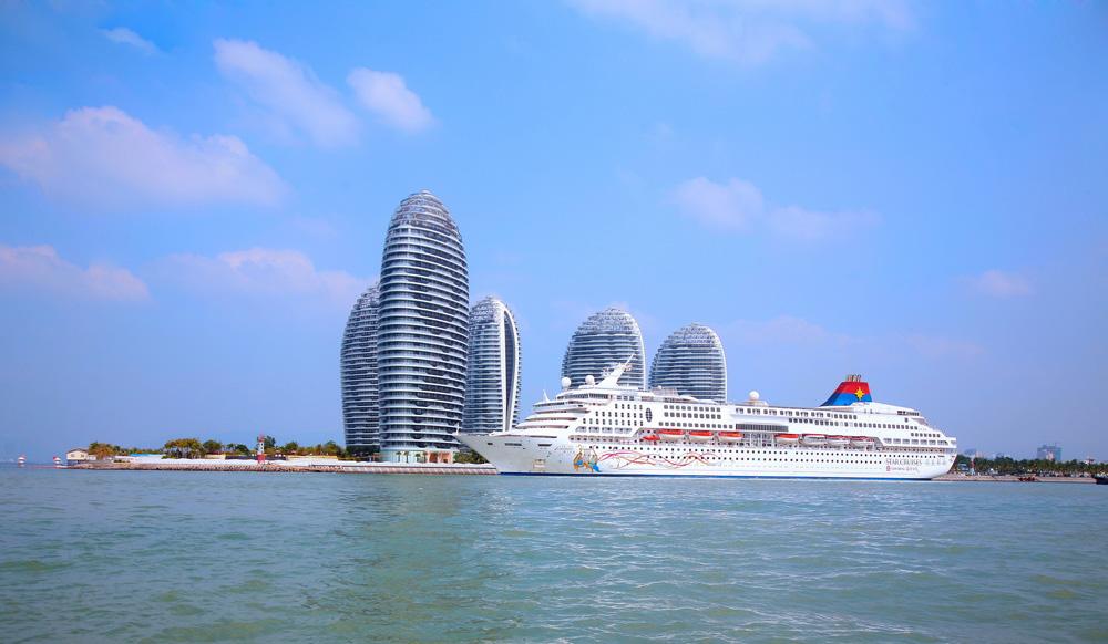 图:三亚凤凰岛国际邮轮港二期远景