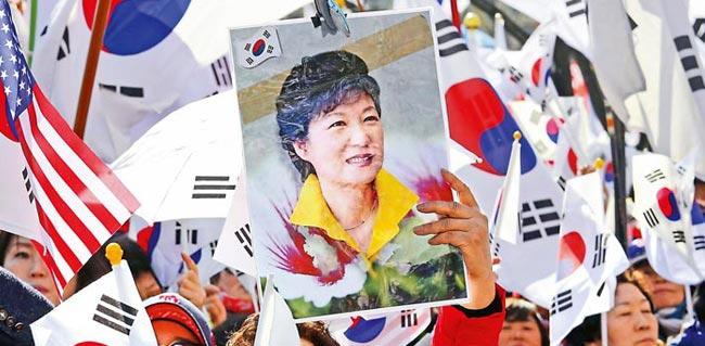 从公主到阶下囚 韩总统朴槿惠被弹劾下台