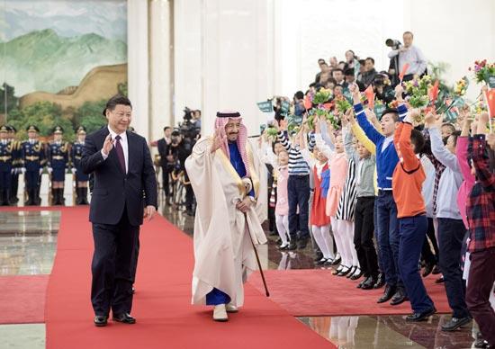 """北京观察:沙特""""向东""""牵动大国格局"""