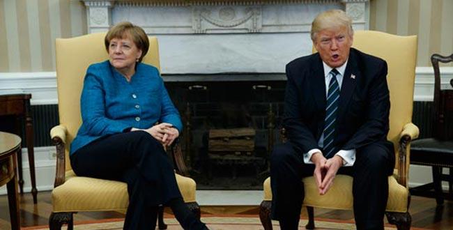 特默首晤針鋒相對 白宮拍照拒不握手場面尷尬