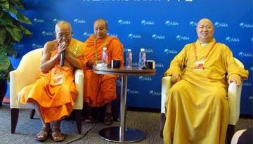 """中柬佛教高僧借古喻今:佛教交流促""""一带一路""""合作"""
