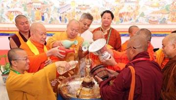 澜湄流域六国佛教领袖首次高峰对话