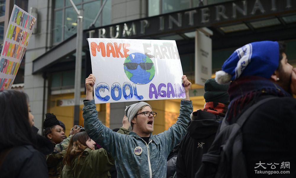 特朗普将废遏气候暖化令 彻底推翻奥巴马气候架构