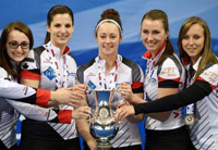 加拿大女子冰壶队13连胜摘得世锦赛冠军