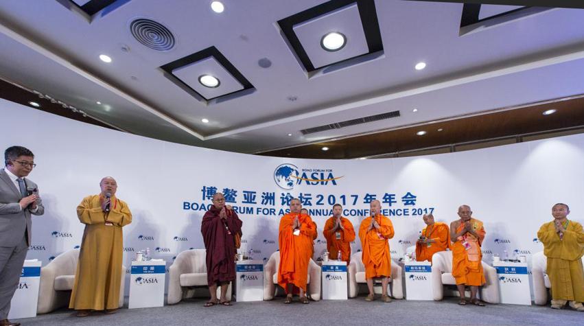 """澜湄六国佛教领袖对话""""法乳同源、和合共生:汇聚智慧与愿力的黄金纽带"""""""