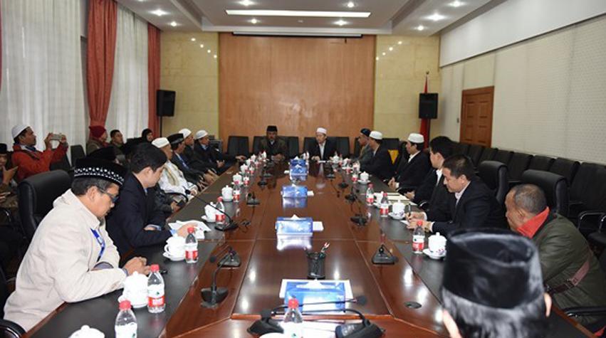 印尼伊斯兰宗教领袖代表团拜访中国伊协