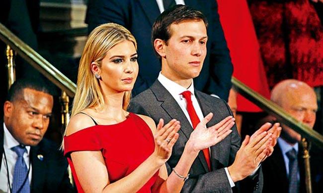 特朗普家天下 女兒女婿聯袂做白宮不受薪顧問