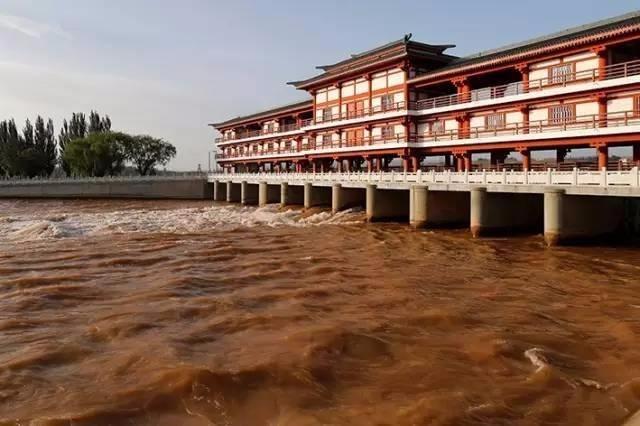 宁夏青铜峡河西总干渠闸