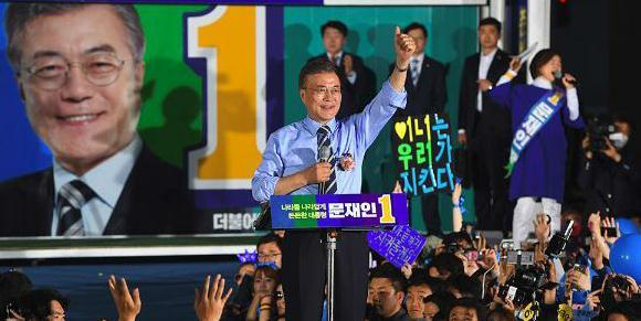 韓國大選今投票 五雄角逐文在寅一馬當先