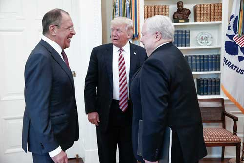 特朗普口疏泄绝密情报 盟友心寒或拒分享情报