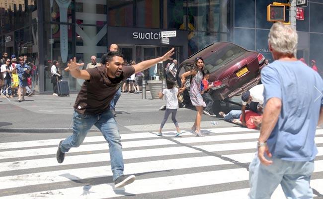 纽约时报广场撞人司机致1死23伤 被控二级谋杀