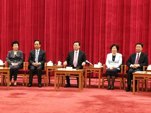 張德江:樹立國家觀念是基本法實施核心要求