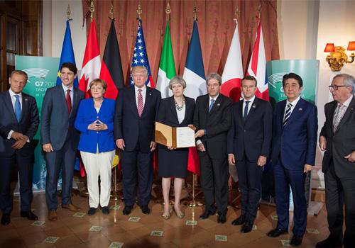 G7峰会气候议题无结果 施压科技巨头互联网反恐