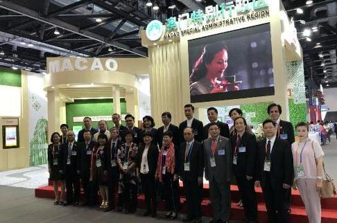 澳门馆入驻北京国际服务贸易交易会 助力澳企业合作交流