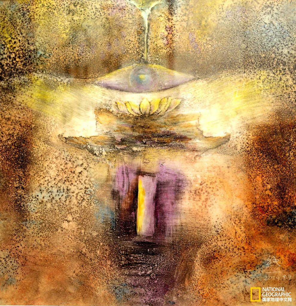 这些禅意画,简直灵动出了另一种澄净世界!