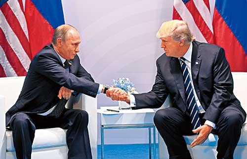 G20晚宴期间换位 普京特朗普密谈一小时内容成谜