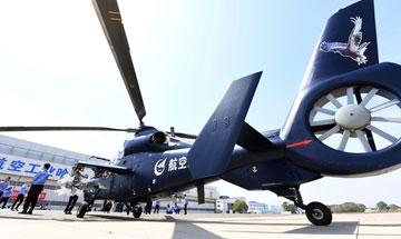 中国直升机开始开始发力起飞