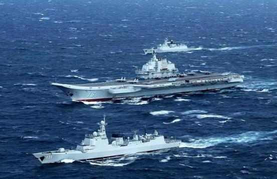 中国航母编队成长记
