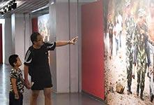 建军90周年摄影展在京开幕