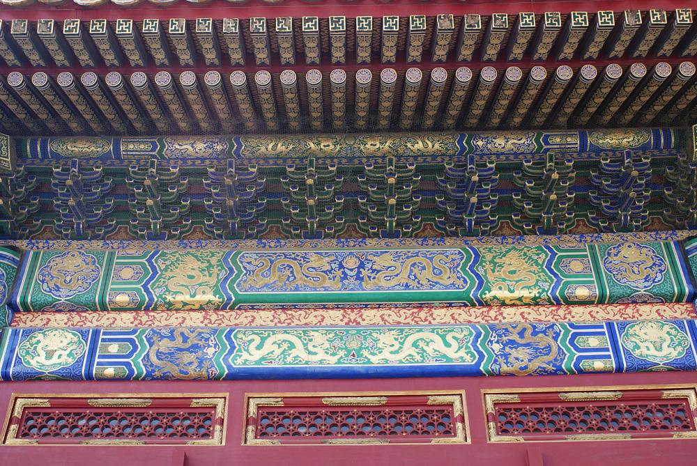 故宮建築彩畫的故事