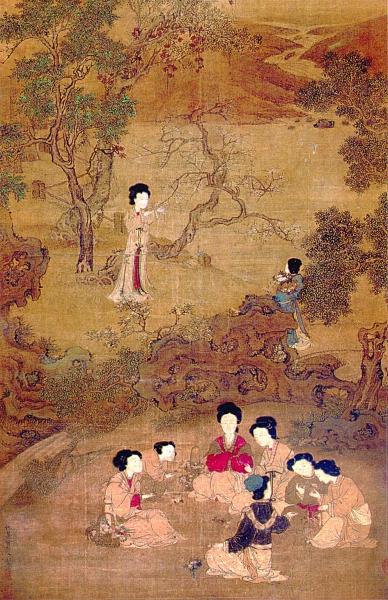 深闺亦有竹林期——绘画中的女性园林生活